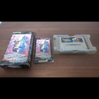 Nintendo Rockman Megaman and Forte SNES with Box and Manual Japan Pre-owned