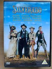 Silverado DVD 1985 Western Classic Film Movie with Kevin Kline Costner