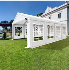 4x8 m Partyzelt Festzelt Pavillon Garten Gartenzelt Bierzelt STABIL SMART NEU