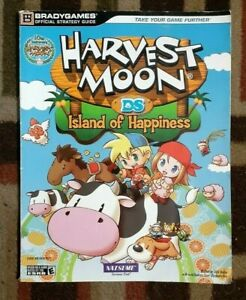 Harvest Moon DS Island Of Happiness Bradygames  Official Strategy Guide