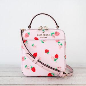 NWT Kate Spade Daisy Wild Strawberries Vanity Crossbody in Pink Multi