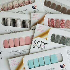 COLOR STREET NAIL STRIPS NEW and RETIRED