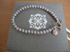 Dower & Hall Silver Bead Bracelet in Original Box    - (ref T9)