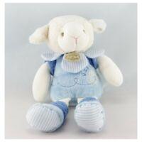 Doudou et compagnie mouton Gaston bleu - Mouton Classique