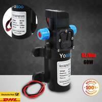 Wasserpumpe Selbstansaugende Pumpe 12V 60W Hochdruckpumpe Membranpumpe Yacht