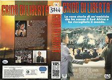 GRIDO DI LIBERTA' (1987) vhs ex noleggio