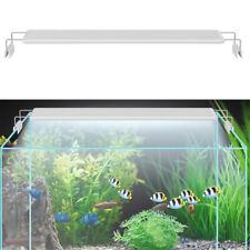 60Cm Fish Tank Led Light Aquarium Plant Lighting Extensible Bracket White & Blue