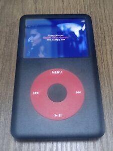 Apple iPod Classic 7th Generation Black/red 160GB 256GB 512GB 1TB w/ Retail box