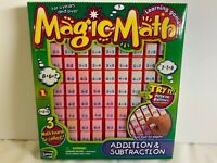 NEW Magic Math Press and See Addition & Subtraction Toy Learning Game