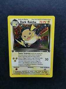 DARK RAICHU TEAM ROCKET 83/82 1° EDIZIONE ITA RARA HOLO EXCELLENT CONDITION