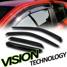 Rain/Wind Guard Vent Shade Deflector Window Visor 4P 05-11 Dodge Dakota Quad Cab