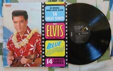 Elvis Presley LP Blue Hawaii Original Soundtrack RCA w/ OIS 1977 RE VG+/Mint-