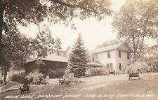 RP: CAMBRIDGE , Wis. , 1930-40s ; Main Lodge, Davidson's Resort