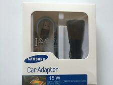Samsung 15W USB Auto Quick Charger + Micro USB 3.0 Cable Black NEW