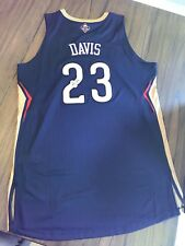 Anthony Davis Signed New Orleans Pelicans Authentic NBA Adidas Jersey