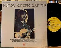 History of Eric Clapton 2 LP ATCO SD2-803 VG++ Vinyl Yardbirds Cream Blind Faith