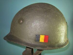named German para helmet Belgian use fallschirmjager FSJ casque stahlhelm 盔 шлем