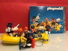 Playmobil deportes nauticos lancha zodiac submarinistas 1984 3479 caja original