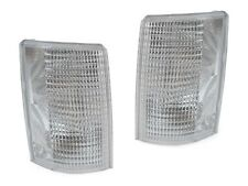 85-94 Chevy Astro Van / GMC Safari Euro Clear Corner Signal Lights Left + Right