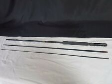 "SHAKESPEARE ""BLACK FLY"" FLY FISHING ROD CARBON FIBRE 3 PIECE 8' - 1602-240"
