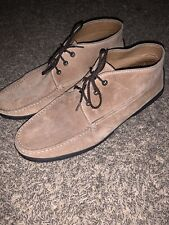 MENS TODS SUEDE LACE UP SHOE SIZE 11
