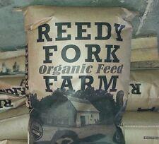 USDA Certified Organic, nonGMO, Reedy Fork Organic Farm Broiler Feed. Made in NC