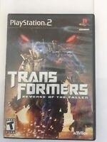 Transformers: Revenge of the Fallen PS2 (Sony PlayStation 2, 2009) No Manual