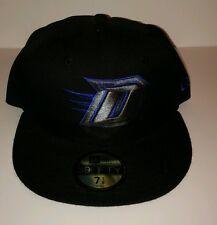 "DePaul Blue Demons New Era 59FIFTY HAT fitted men's 7 1/8  ""NCAA Black Blue NCAA"