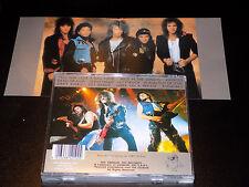 Bon Jovi Dead Or Alive live in Cincinnati Ohio 1987 Very Rare German Import CD