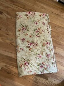 Nautica Savannah Shabby Floral Stripe Duvet Cover Full/queen