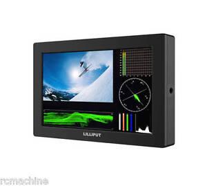 """LILLIPUT 7"""" Q7 1920x1200 Full HD on-Camera Metal Slim SDI /HDMI cross conversion"""