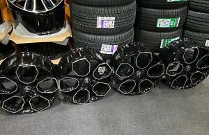 "Ex Display 18"" Skoda VRS Style Gloss Black Alloy Wheels 5x112 8Jx18 ET45"