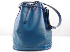 US seller Authentic LOUIS VUITTON EPI LARGE NOE SHOULDER BAG PURSE good LV Blue