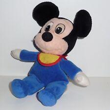 Doudou Souris  Mickey Disney - Bavoir Jaune