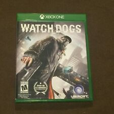 Microsoft XBox 1 One Video Game Watch Dogs Rated M NICE