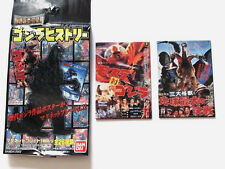 ORIGINAL BANDAI 2 PC MAGNET SET GODZILLA VS MOTHRA GHIDORAH 3 HEADED MONSTER Sea