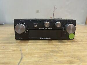 Vintage Panasonic CX-1110  8-Track Car Stereo