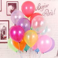 30x Birthday Ballons 5inch Latex Helium Balloon Pearl Party Wedding Balloon Ball