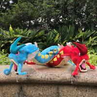 2X Gyarados Shiny Red And Blue Plush Toys Dragon Stuffed Toy Cartoon Soft Doll