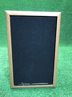 Infinity RS125 Bookshelf Speaker Vintage Wood Single Fast Free Shipping