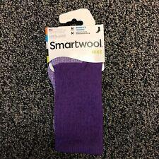 Smartwool PhD Medium Weight Womens Hike Merino Wool Crew Socks - Purple - Medium