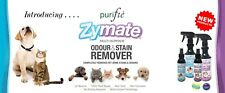 Purifie Zymate Urine Odour and Stain Remover for Cat- Organic, pH Neutral, Safe