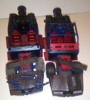 Vintage 1986 G.I. Joe Cobra Vehicle 2 Ram Turbo RU0169 Hasbro M4138-1 Pair