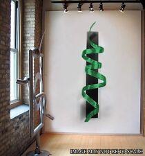 Modern Abstract Metal Wall Art Home Decor Sculpture - Green Knight by Jon Allen