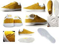 Adidas M17187 Stan Smith Vulc Ortholite Rau UP Leder Schuhe Sneaker 48 - 49 Gold
