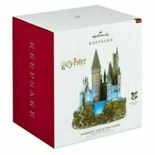 Hallmark Keepsake Harry Potter Set Hogwarts, Hagrid, Dumbledore, Harry + 2 - New