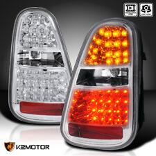 05-06 Mini Cooper S Chrome Clear LED Turn Signal Brake Lamp Tail Lights