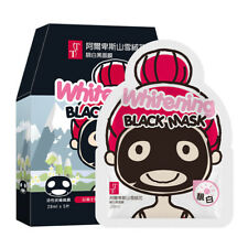 [TT KOTEMEIN] Alps Edelweiss WHITENING Black Charcoal Facial Mask 5pcs/1box NEW