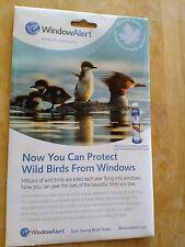 BirdBusters Window Alert 4 Maple Leaf Decals Prevent Wild Birds Window Strikes