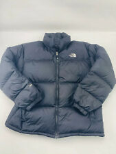 The North Face Vintage 700 Quilted Goose Down Puffer Jacket Black Mens Sz XL